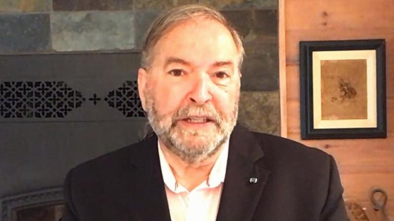 CTV News political commentator Tom Mulcair