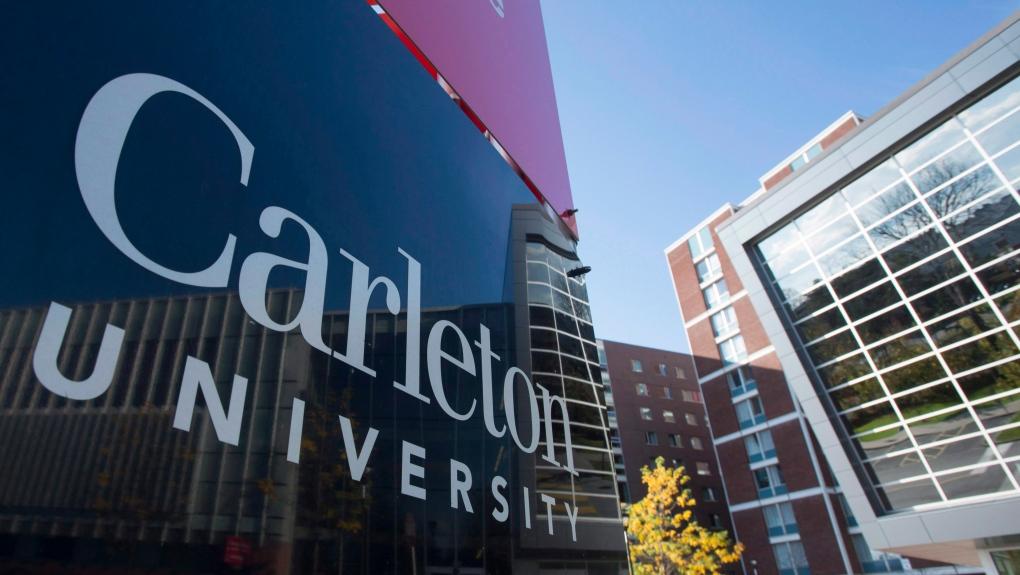 Carleton University Campus Sign