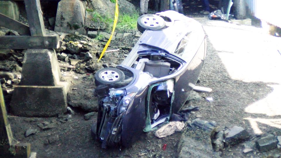Fallen PR car 2