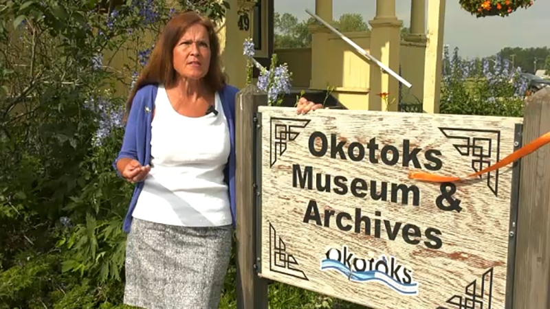 Kathy Coutts inspires her Okotoks community with decades of storytelling, first as a reporter and now at Okotoks Museum. She's our Inspired Albertan.