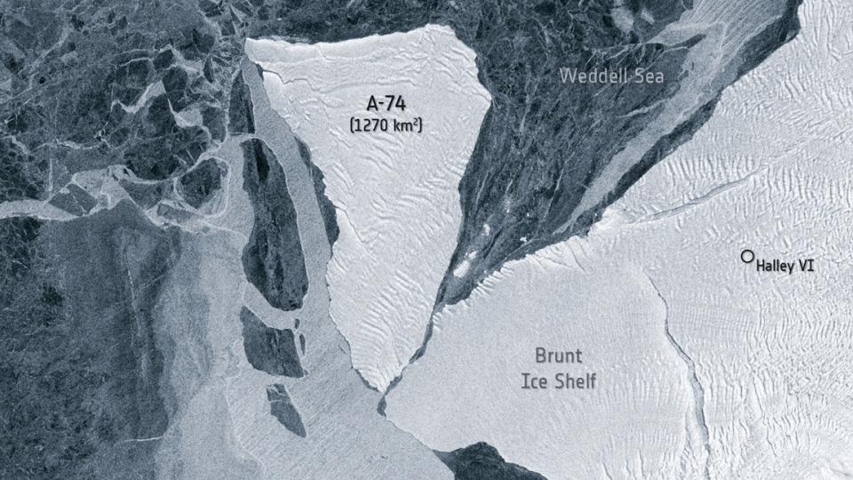 A-74 and Antarctica