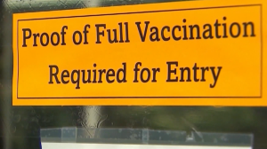 vaccine proof required