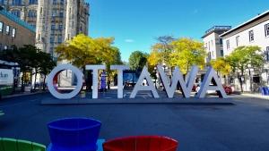The Ottawa sign on York Street in Ottawa's ByWard Market. (Photo by Jacob Meissner on Unsplash)