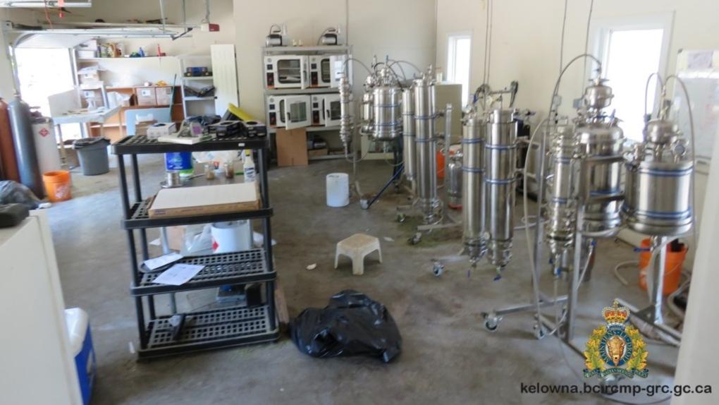 West Kelowna drug lab