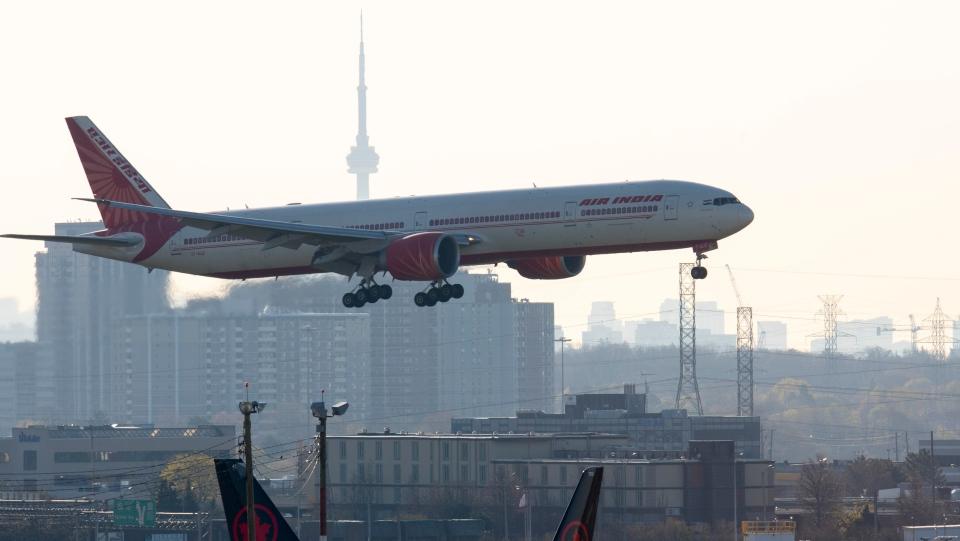 Last flight from India
