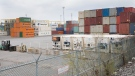 Shipping containers are shown at the Port of Montreal, on April 25, 2021. (Graham Hughes / THE CANADIAN PRESS)