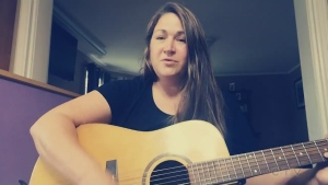 Mandy Minderlein, who lives in Cobalt, south of New Liskeard, performs a stirring cover of Fleetwood Mac's 'Dreams.'