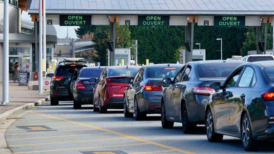 Canada-U.S. border crossing