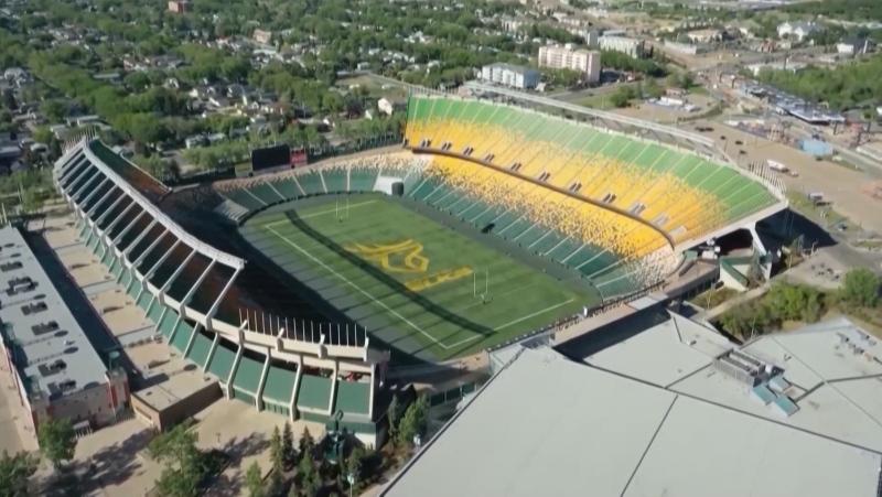 Commonwealth Stadium, Edmonton Elks