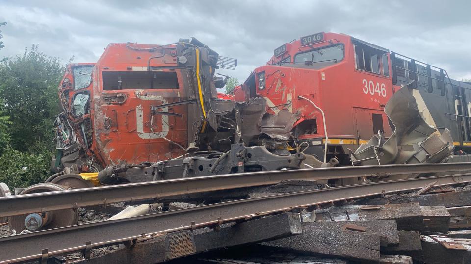 CN Rail trains