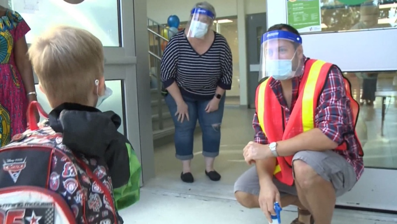 Jason Kenney says Alberta children have more to worry about than COVID-19, but doctors are concerned that a spike in cases among children will overwhelm the health care system.