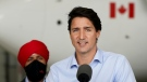 Trudeau asked if he'd stay on as opposition leader