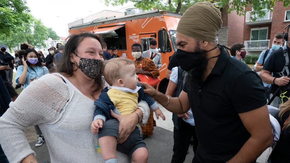 Jagmeet Singh in Montreal