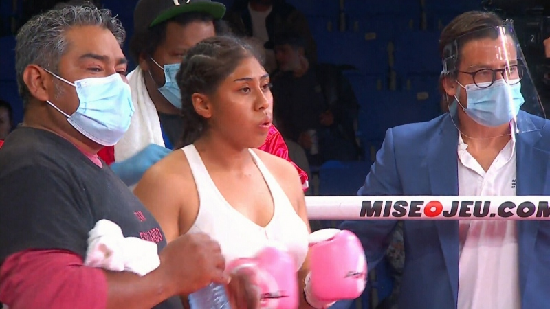 Jeanette Zacarias Zapata died after losing consciousness in a boxing bout in Montreal.
