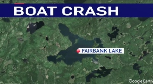 A woman was sent to hospital after the kayak she was in was hit by a boat in a Sudbury area lake. Sept. 3/21 (CTV Northern Ontario)