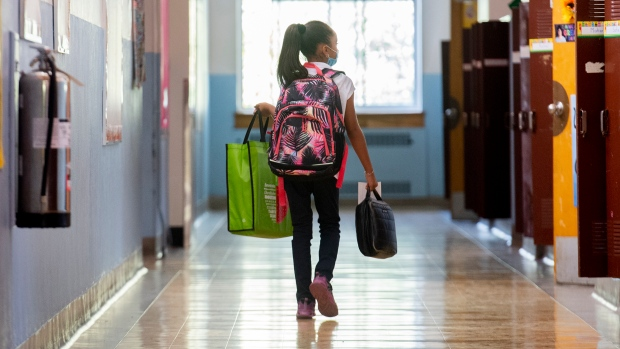 Going back to school doesn't have to be stressful. (THE CANADIAN PRESS/Graham Hughes)