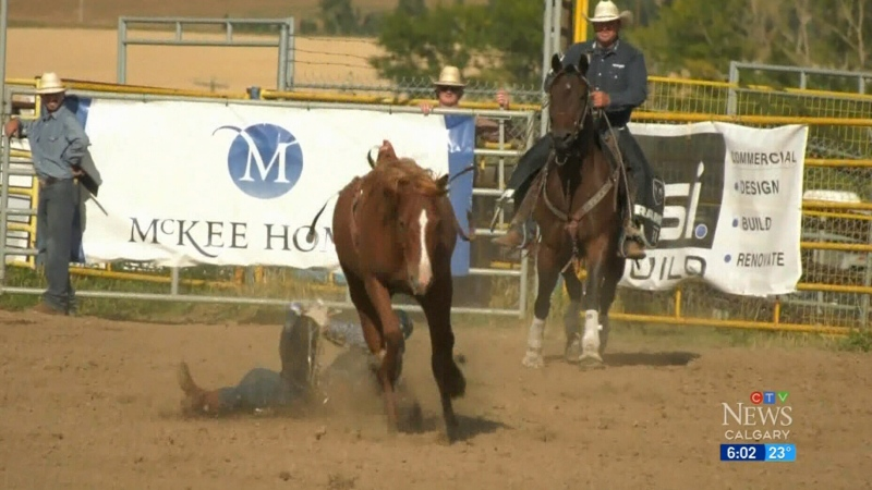 No restrictions for Alberta rodeos?