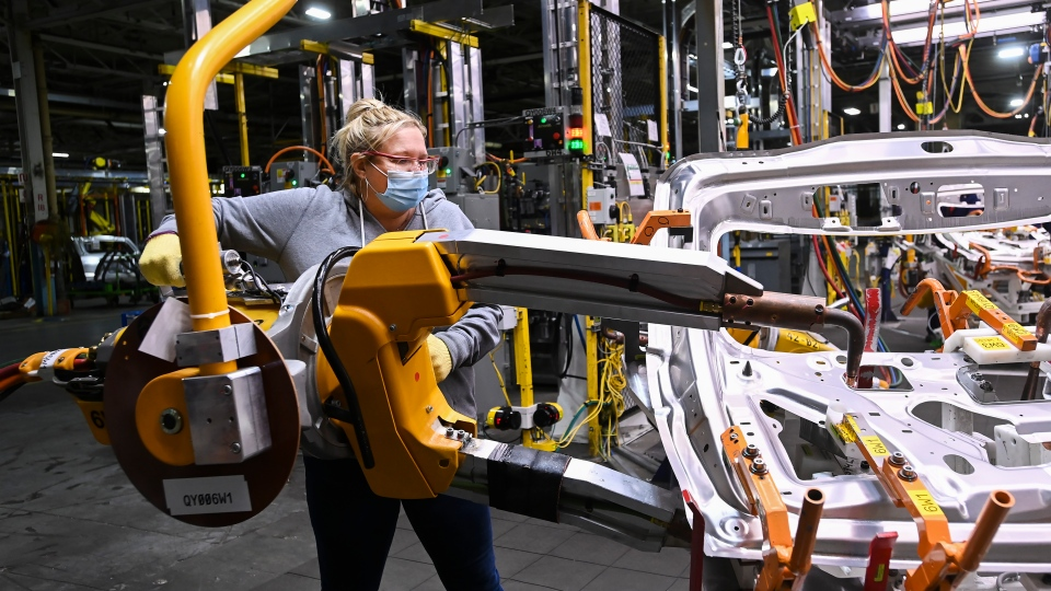 General Motors assembly plant worker