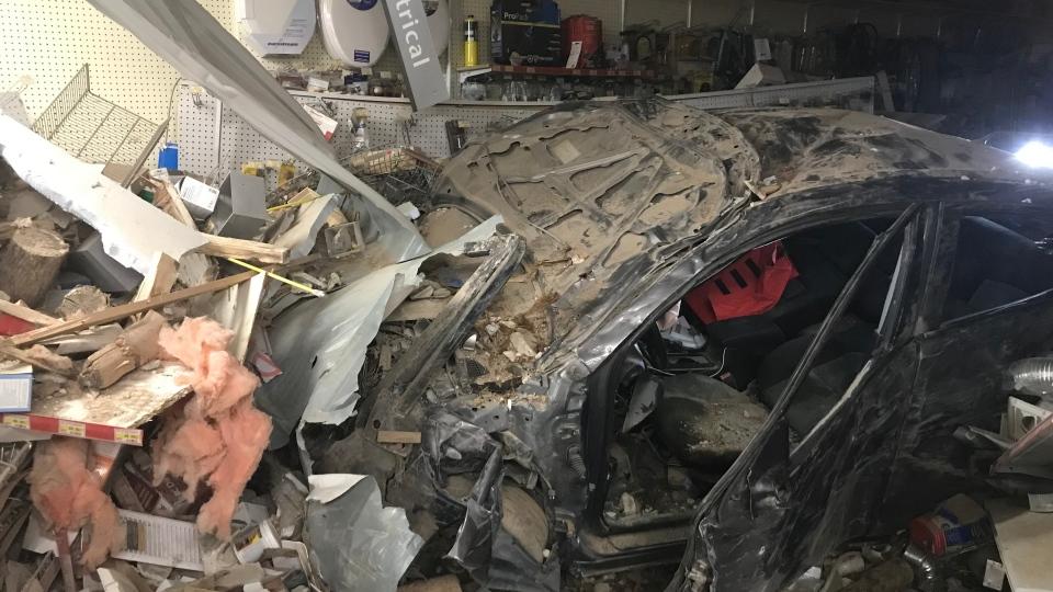 Perkins Lumber crash