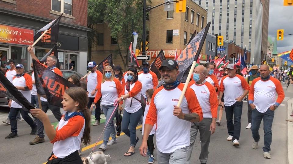 Ottawa Labour Day parade 2021