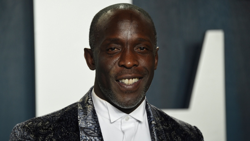 In this Sunday, Feb. 9, 2020, file photo, Michael K. Williams arrives at the Vanity Fair Oscar Party in Beverly Hills, Calif. (Photo by Evan Agostini/Invision/AP, File)