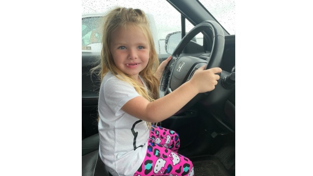 Amber Alert issued for 3-year-old girl last seen in Barrie, Ont.