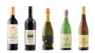 Benziger Family Winery Sonoma County Merlot 2017, Quails' Gate Estate Winery Merlot 2013, Château des Charmes Brut Sparkling White, Emmolo Sauvignon Blanc 2015, Ruppertsberger Linsenbusch Gewürztraminer Spätlese 2017