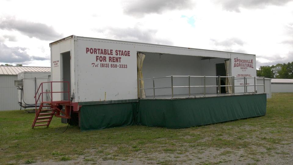 Spencerville Fair stage