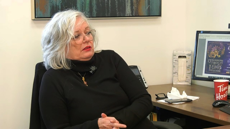 Diane Colton is an advocate for lung cancer awareness and she's our Inspired Albertan. Darrel Janz reports