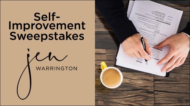 Self-Improvement Sweepstakes Header