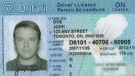 An Ontario driver's licence is seen in this undated file photo.