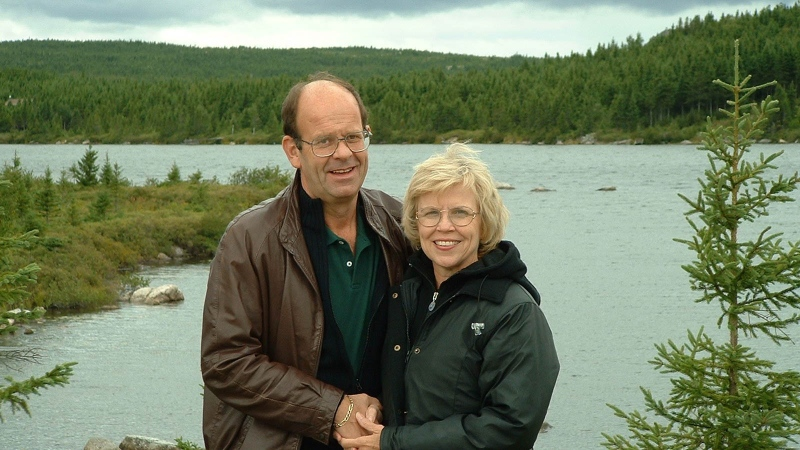 Nick Marson and Diane Kirschke fell in love when 9/11 diverted their flight. (Courtesy Nick and Diane Marson)