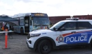 As health officials across northern Ontario ramp up efforts to get more people vaccinated, the health unit in Sudbury is hiring extra security, and often it's off-duty police officers. (Molly Frommer/CTV News)
