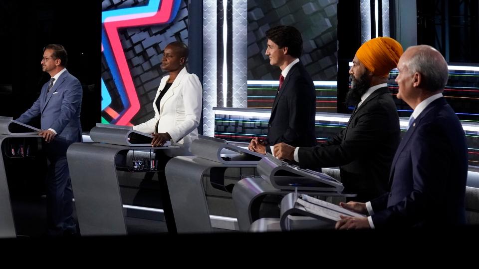 Federal election English debate