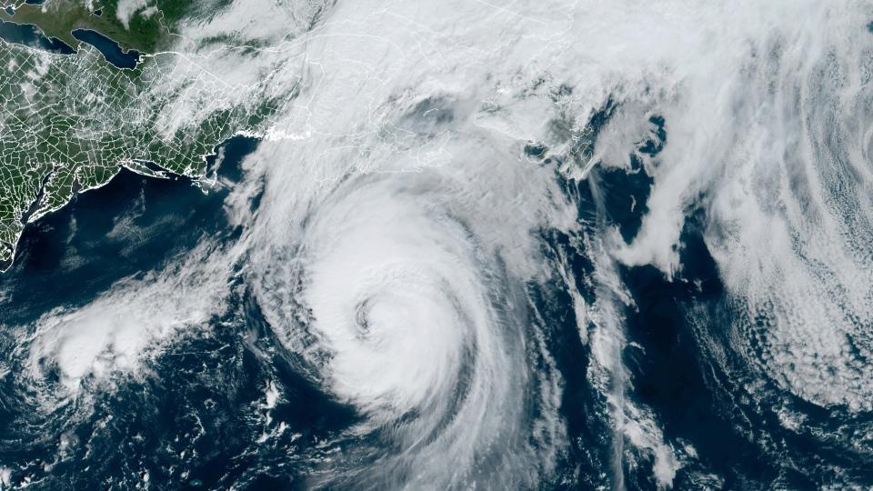 Hurricane Larry on Sept. 10, 2021
