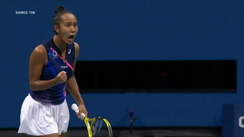 Leylah Fernandez into the U.S. Open final
