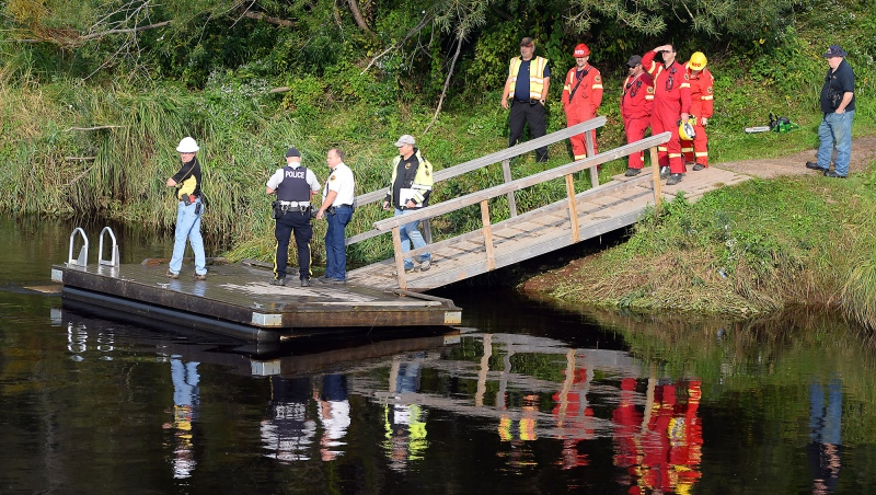 Police say the 25-year-old woman from China was swimming with another woman from a dock on the Annapolis River near Middleton on Saturday when they encountered difficulty with the current.