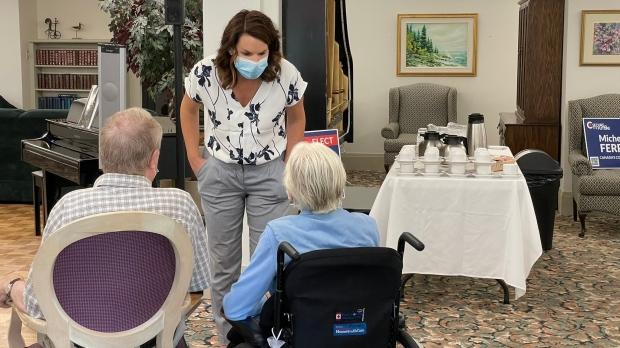 Campaign photo of Michelle Ferreri, Conservative MP candidate for Peterborough-Kawartha. (Twitter, Michelle Ferreri)