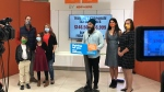 Federal NDP leader Jagmeet Singh was asked about his hopes for northern Ontario while he was addressing the national media in Sudbury Sunday morning. Sept.12/21 (Ian Campbell/CTV News Northern Ontario)