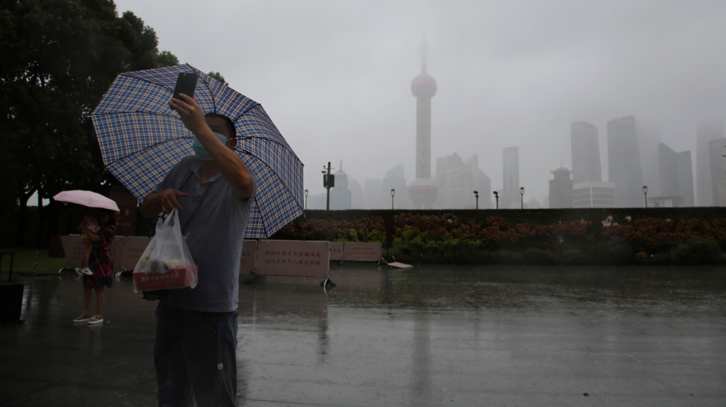 Shanghai Typhoon Chanthu