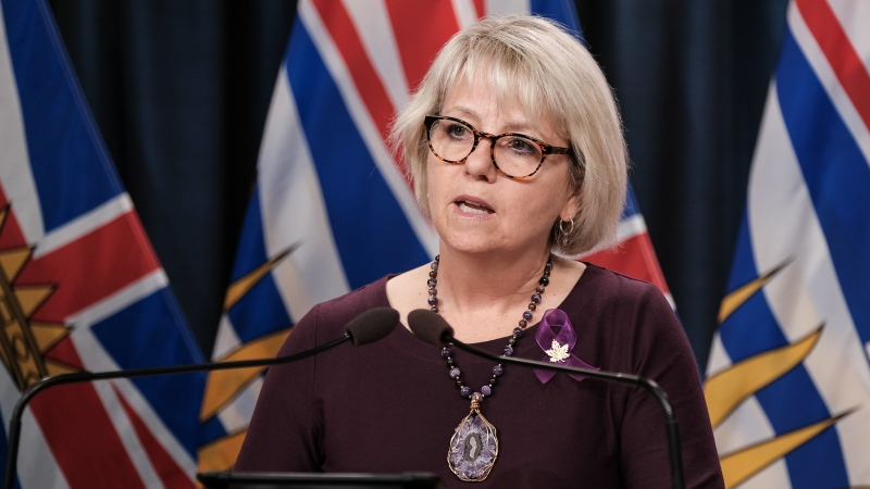 Provincial health officer Dr. Bonnie Henry provides an update on COVID-19 on Aug. 31, 2021. (Province of B.C./Flickr)