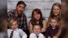 The family has since been confirmed as 30-year-old RJ Sears, 28-year-old Michelle Robertson, three-year-old Colin, four-year-old Jaxson, eight-year-old Robert and 11-year-old Madison.