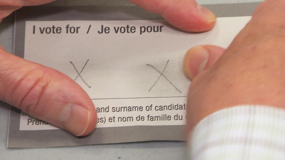 Elections Canada ballot