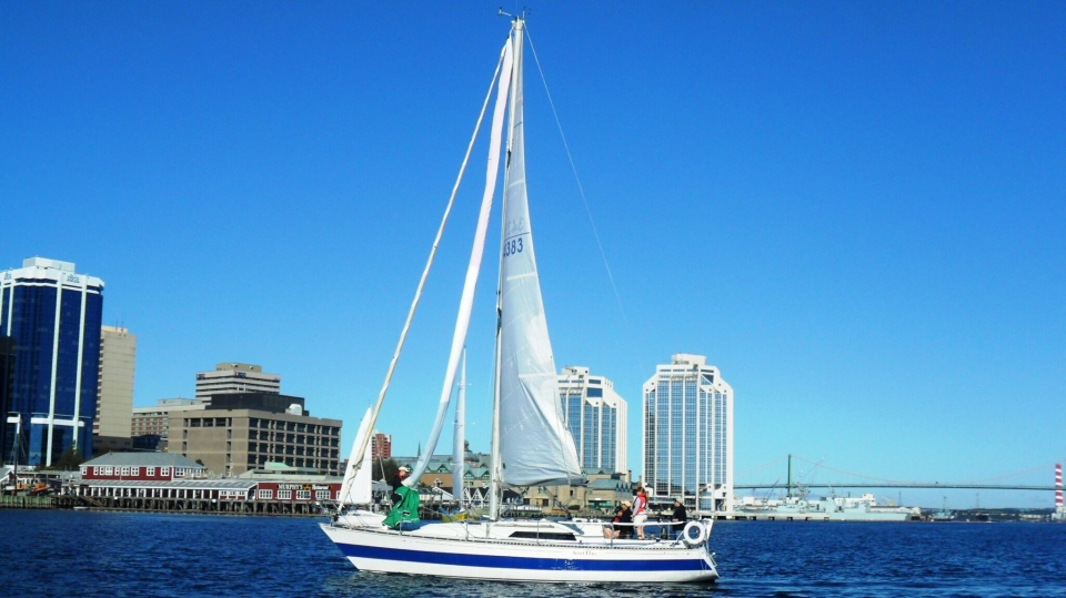Stolen sailboat