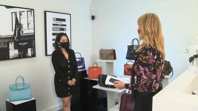 Own or rent your dream designer handbag through Luxe Du Jour