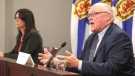 In a live COVID-19 news conference on Tuesday, Health and Wellness Minister Michelle Thompson said due to current epidemiology in the province and the Atlantic region, it is not the time to move into the final stage. (Photo courtesy: Communications Nova Scotia)