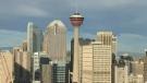 Calgary mayoral candidates debate issues