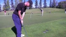 Golfer Kyle Miller has cerebral palsy and a passion for inspiring others.