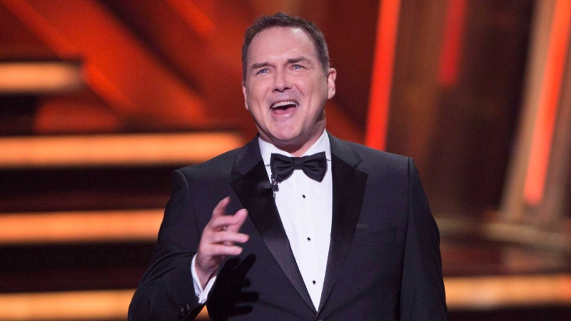 Norm Macdonald begins as host of the Canadian Screen Awards in Toronto on Sunday, March 13, 2016. THE CANADIAN PRESS/Peter Power