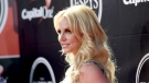 """A source close to the singer Britney Spears, pictured here on July 15, 2015 in Los Angeles, says that """"it was her decision"""" to delete the account and that it has been something she's """"wanted to do for a while."""" (Jason Merritt/TERM/Getty Images North America/Getty Images)"""